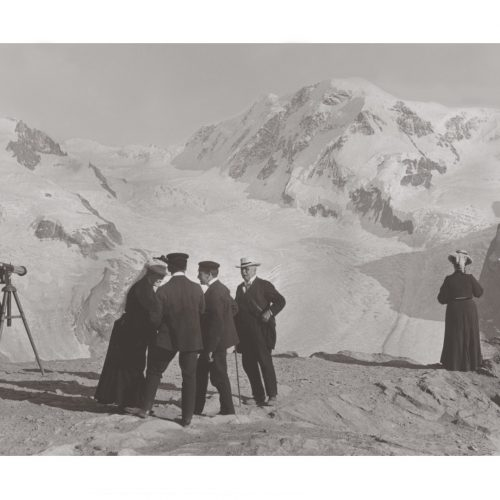 Photo d'époque montagne n°01