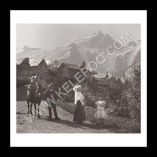 Photo d'époque montagne n°18