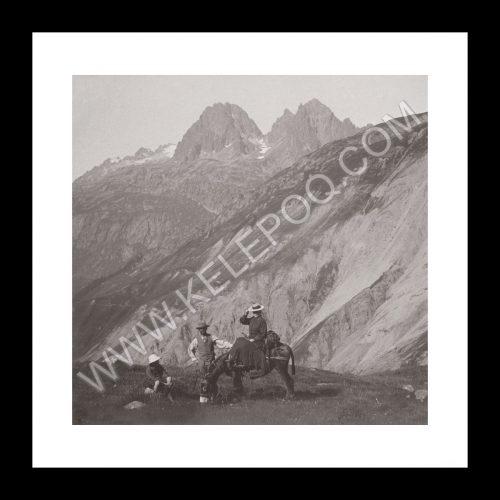 Photo d'époque montagne n°36