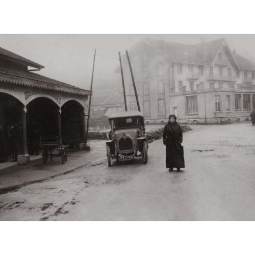 Photo d'époque montagne n°70 - col de la Schlucht - 1912