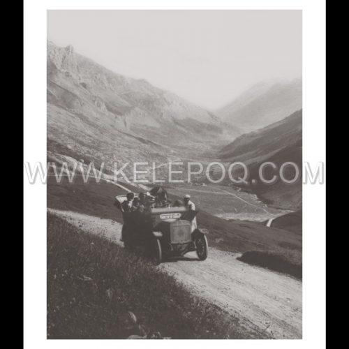 Photo d'époque montagne n°74 - Route du Galibier - 1911