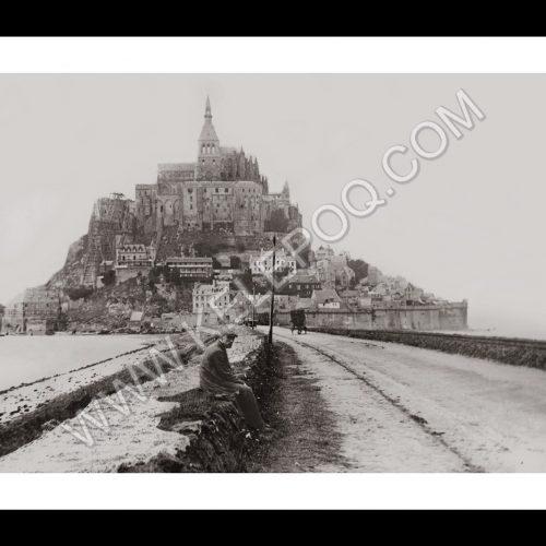 Photo d'époque Mont-Saint-Michel n°04 - Aout 1913