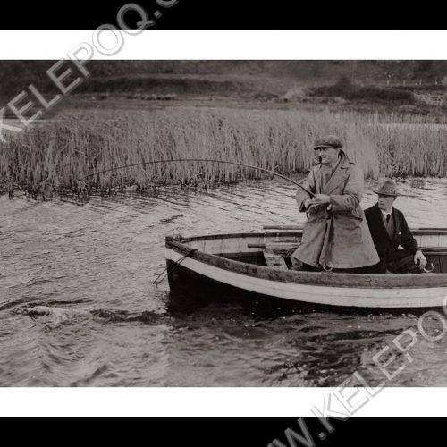 Photo d'époque pêche n°13 - photographe Victor Forbin