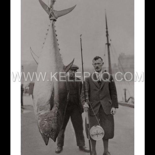 Photo d'époque pêche n°14 - photographe Victor Forbin