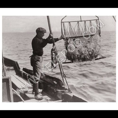 Photo d'époque pêche n°20 - photographe Victor Forbin