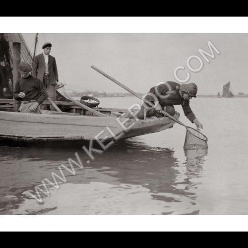 Photo d'époque pêche n°24 - photographe Victor Forbin