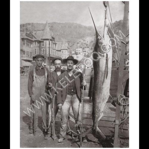 Photo d'époque pêche n°26 - photographe Victor Forbin
