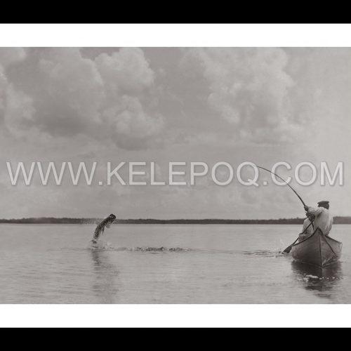 Photo d'époque pêche n°27 - photographe Victor Forbin