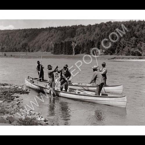Photo d'époque pêche n°42 - photographe Victor Forbin