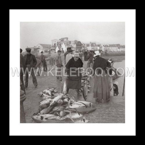 Photo d'époque pêche n°45 - photographe Victor Forbin