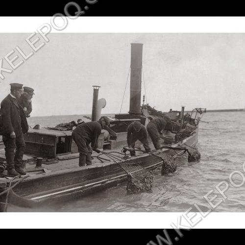 Photo d'époque pêche n°49 - photographe Victor Forbin