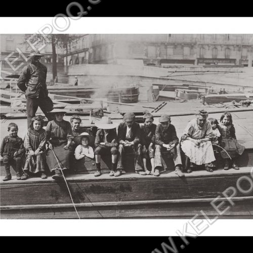Photo d'époque pêche n°52 - photographe Victor Forbin