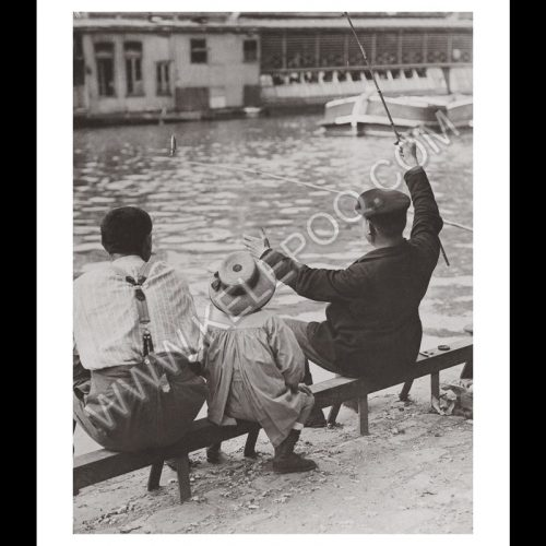 Photo d'époque pêche n°58 - photographe Victor Forbin
