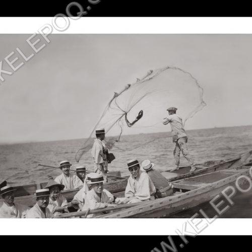 Photo d'époque pêche n°61 - photographe Victor Forbin