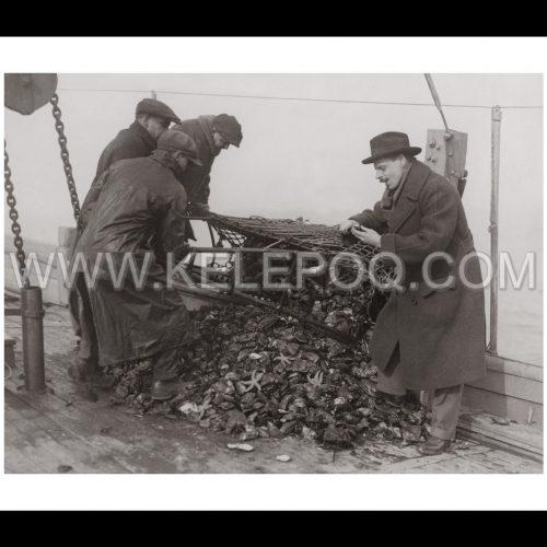 Photo d'époque pêche n°64 - photographe Victor Forbin