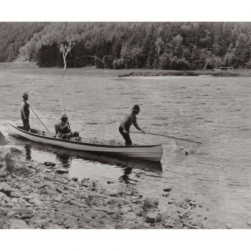 Photo d'époque pêche n°01 - photographe Victor Forbin