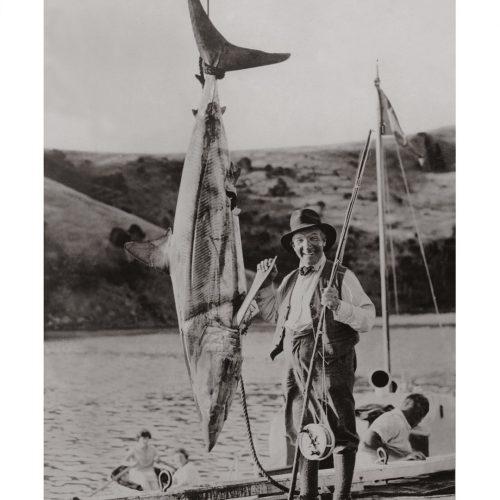 Photo d'époque pêche n°02 - photographe Victor Forbin