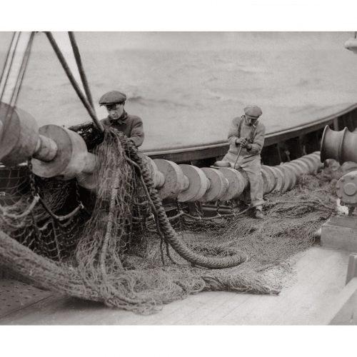 Photo d'époque pêche n°03 - photographe Victor Forbin