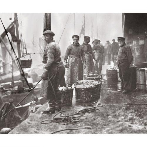 Photo d'époque pêche n°07 - photographe Victor Forbin