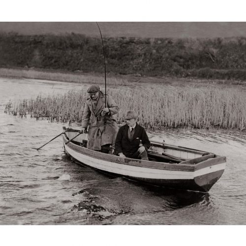 Photo d'époque pêche n°08 - photographe Victor Forbin