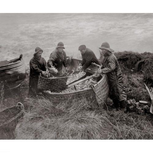 Photo d'époque pêche n°09 - photographe Victor Forbin