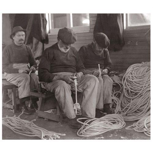 Photo d'époque pêche n°12 - photographe Victor Forbin