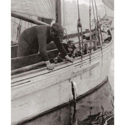 Photo d'époque pêche n°15 - photographe Victor Forbin
