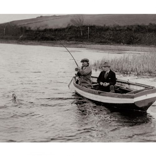 Photo d'époque pêche n°16 - photographe Victor Forbin