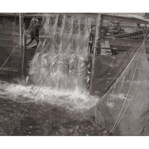 Photo d'époque pêche n°18 - photographe Victor Forbin
