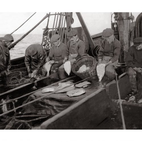 Photo d'époque pêche n°21 - photographe Victor Forbin