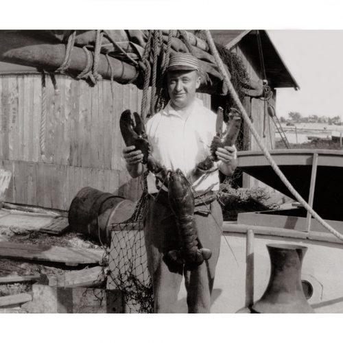 Photo d'époque pêche n°23 - photographe Victor Forbin
