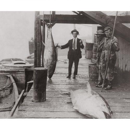 Photo d'époque pêche n°25 - photographe Victor Forbin
