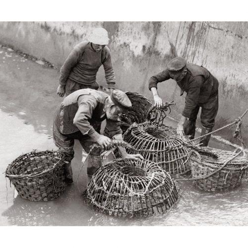 Photo d'époque pêche n°32 - photographe Victor Forbin