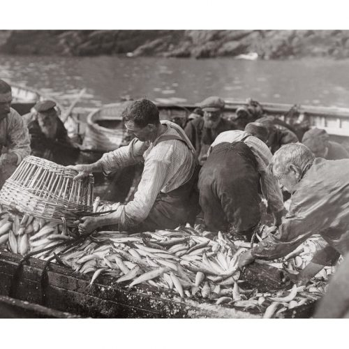 Photo d'époque pêche n°34 - photographe Victor Forbin