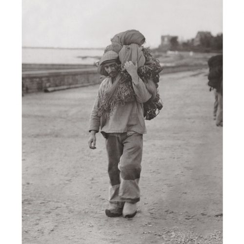 Photo d'époque pêche n°38 - photographe Victor Forbin