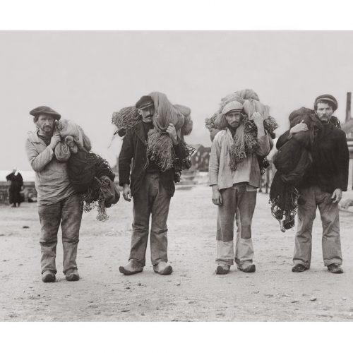 Photo d'époque pêche n°39 - photographe Victor Forbin