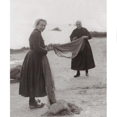 Photo d'époque pêche n°40 - photographe Victor Forbin