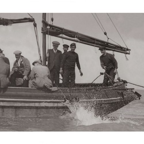 Photo d'époque pêche n°43 - photographe Victor Forbin
