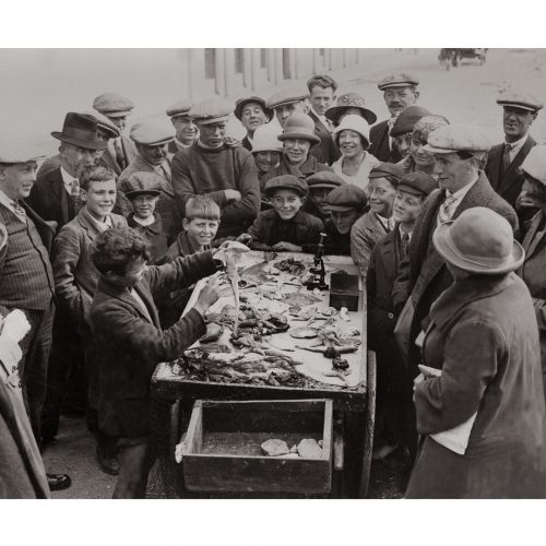 Photo d'époque pêche n°51 - photographe Victor Forbin
