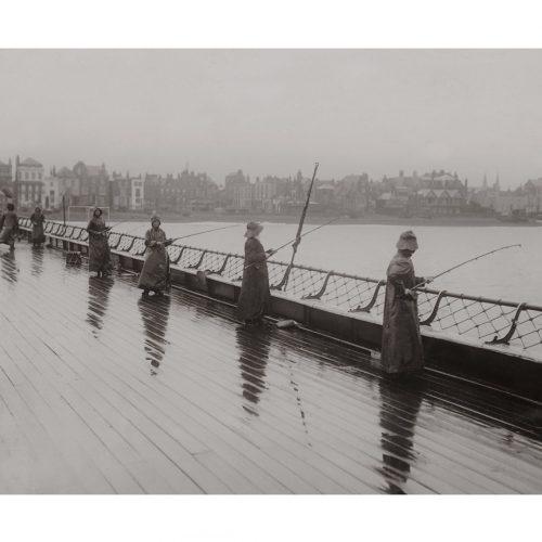 Photo d'époque pêche n°56 - photographe Victor Forbin