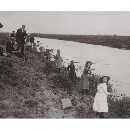 Photo d'époque pêche n°60 - photographe Victor Forbin