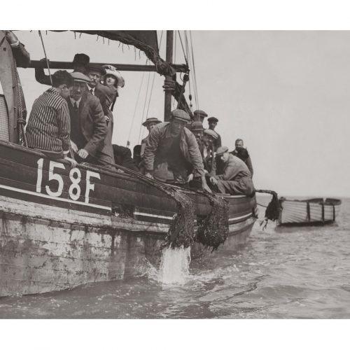 Photo d'époque pêche n°63 - photographe Victor Forbin