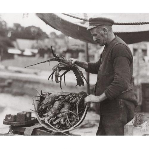 Photo d'époque pêche n°65 - photographe Victor Forbin