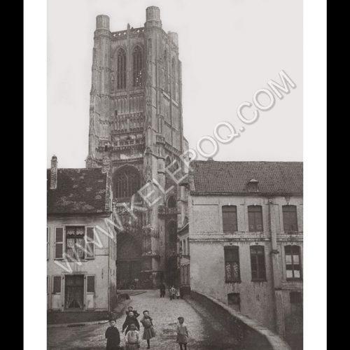 Photo d'époque urbain n°07 - Saint-Omer - 1908