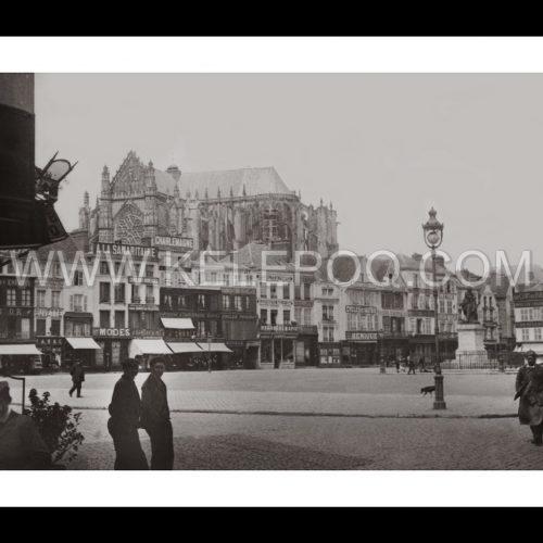 Photo d'époque urbain n°13 - Beauvais - Avril 1908