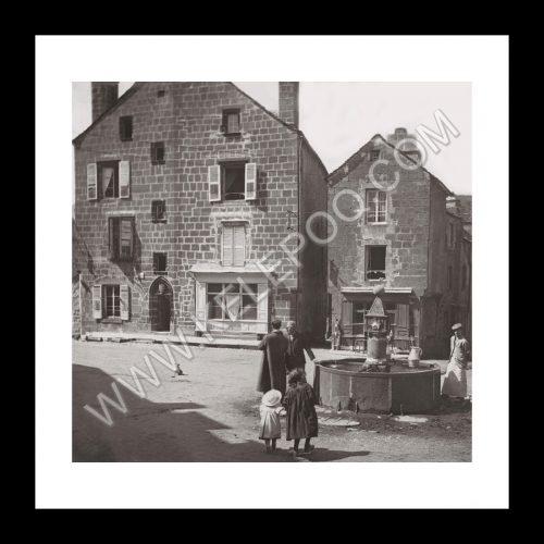 Photo d'époque Urbain n°14 - Besse - Mai 1908