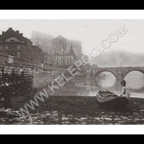 Photo d'époque urbain n°15 - Huy - 1913