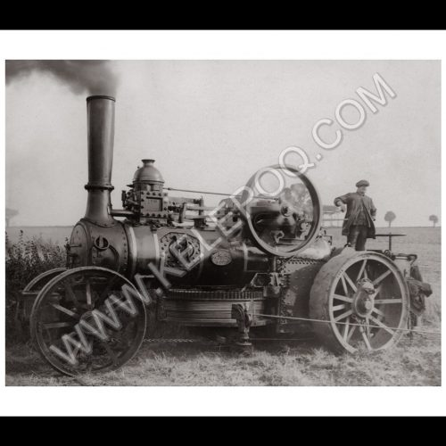 Photo d'époque locomotive n°01 - locomotive agricole