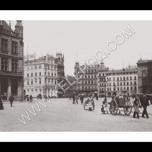 Photo d'époque Cologne n°01 - Place St Paul