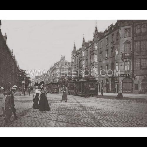 Photo d'époque Düsseldorf n°02 - tramway